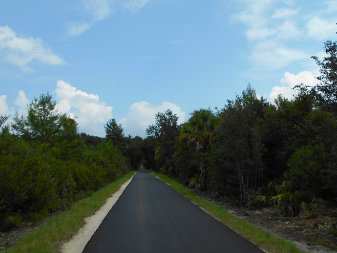 Nice stretch of trail closer to I-95