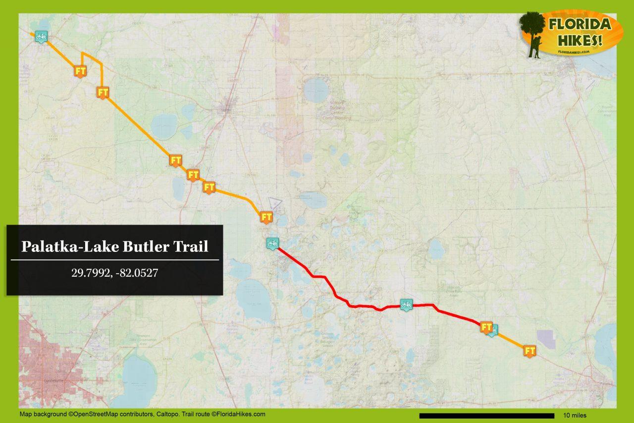 Palatka-Lake Butler Trail