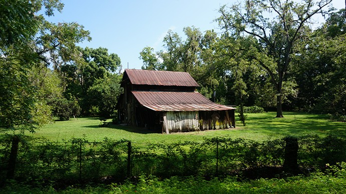 Lake Butler Trail barn