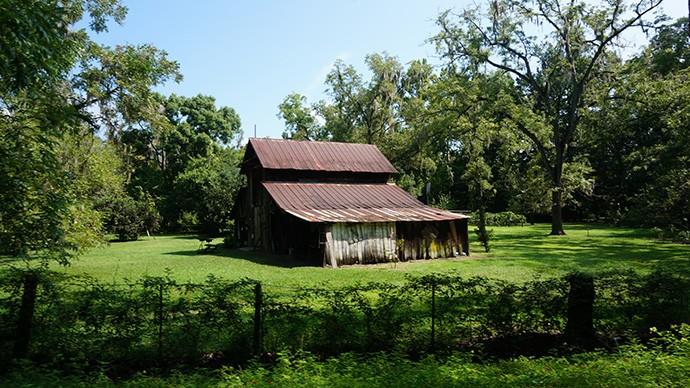 Lake Butler Trail barn