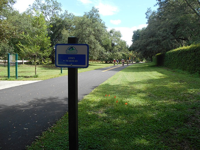 Jones Trailhead, Seminole Wekiva Trail