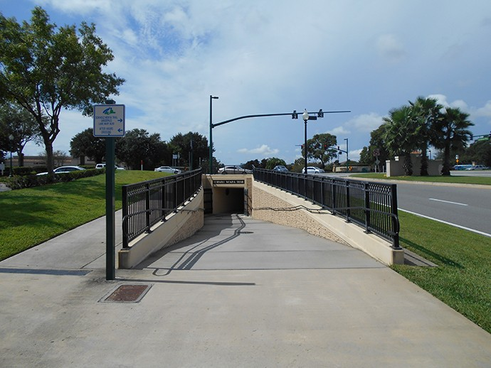 Underpass at Lake Mary Blvd