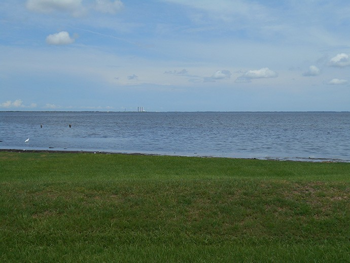 VAB across the river at KSC