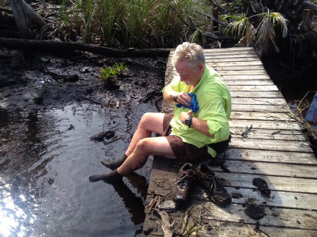 Spring Creek mud