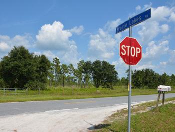 Canoe Creek Road Florida Trail