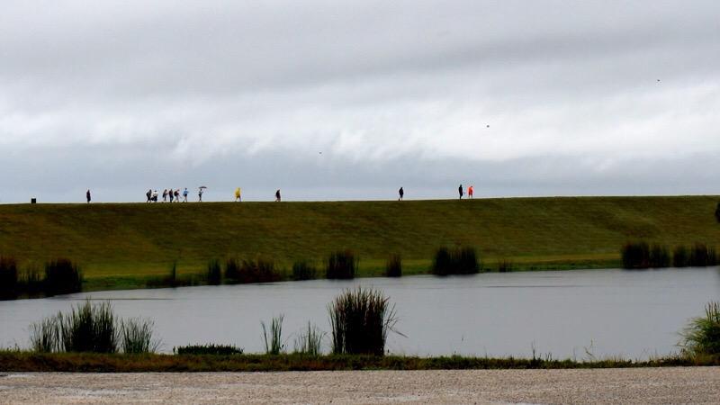 Lake Okeechobee dike