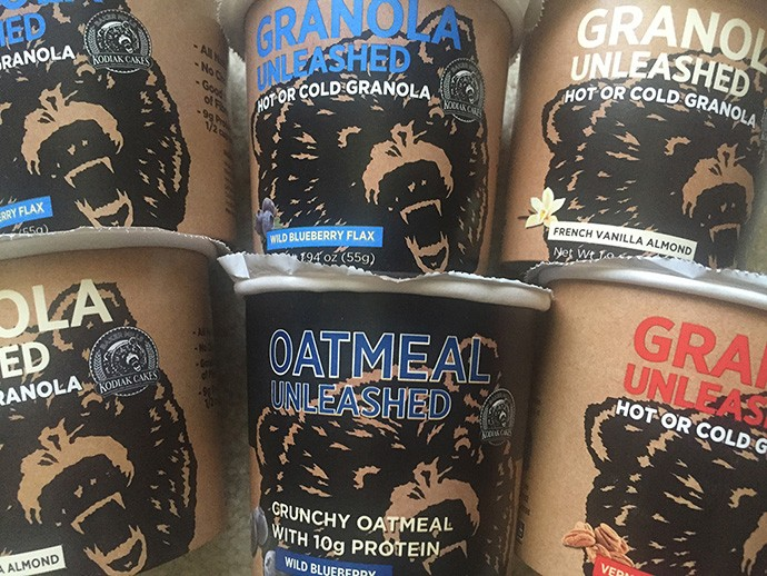 Kodiak Cakes Oatmeal and Granola Unleashed