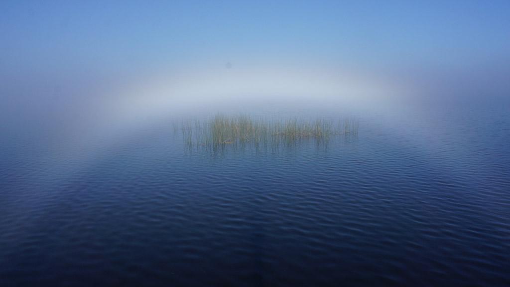 Fogbow on Lake Monroe