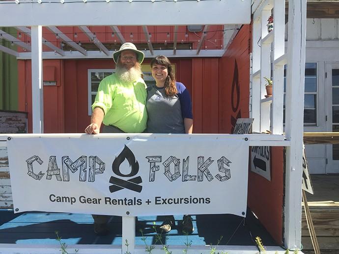 Meeting Julia at Camp Folks