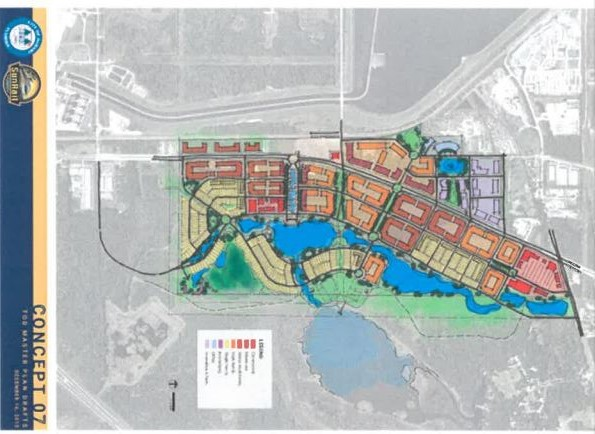 Debary Development plans
