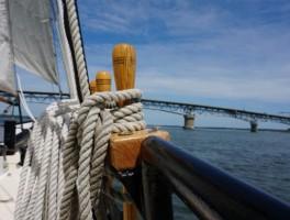 Sailing Yorktown