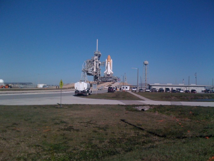 Space Shuttle Pad 39B