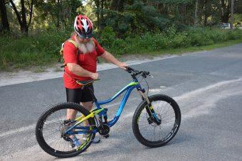 Biking at Santos