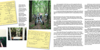 The Florida Trail book interior pages