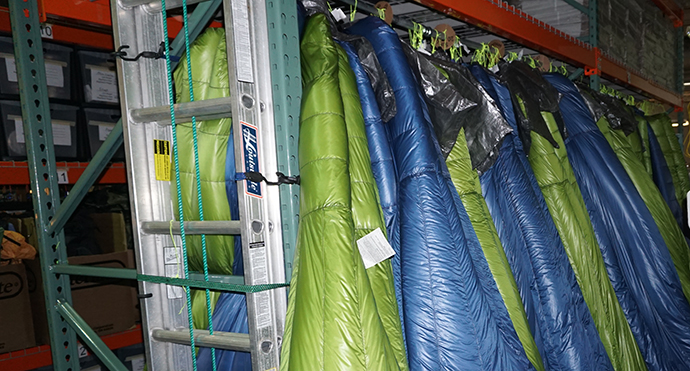 Lightweight sleeping bags and quilts