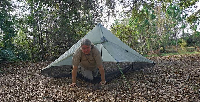 Hexamid tent