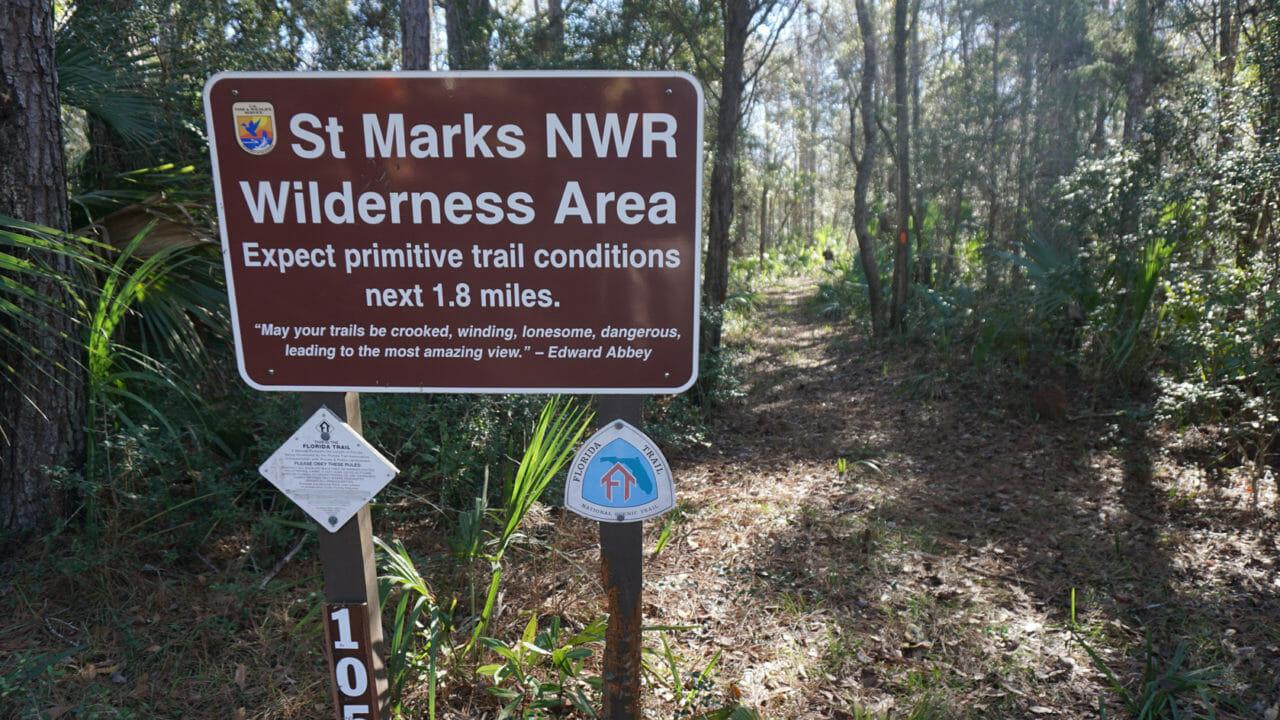 St Marks NWR Wilderness Area