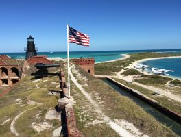 Fort Jefferson at Dry Tortugas National Park (Bob Finley)