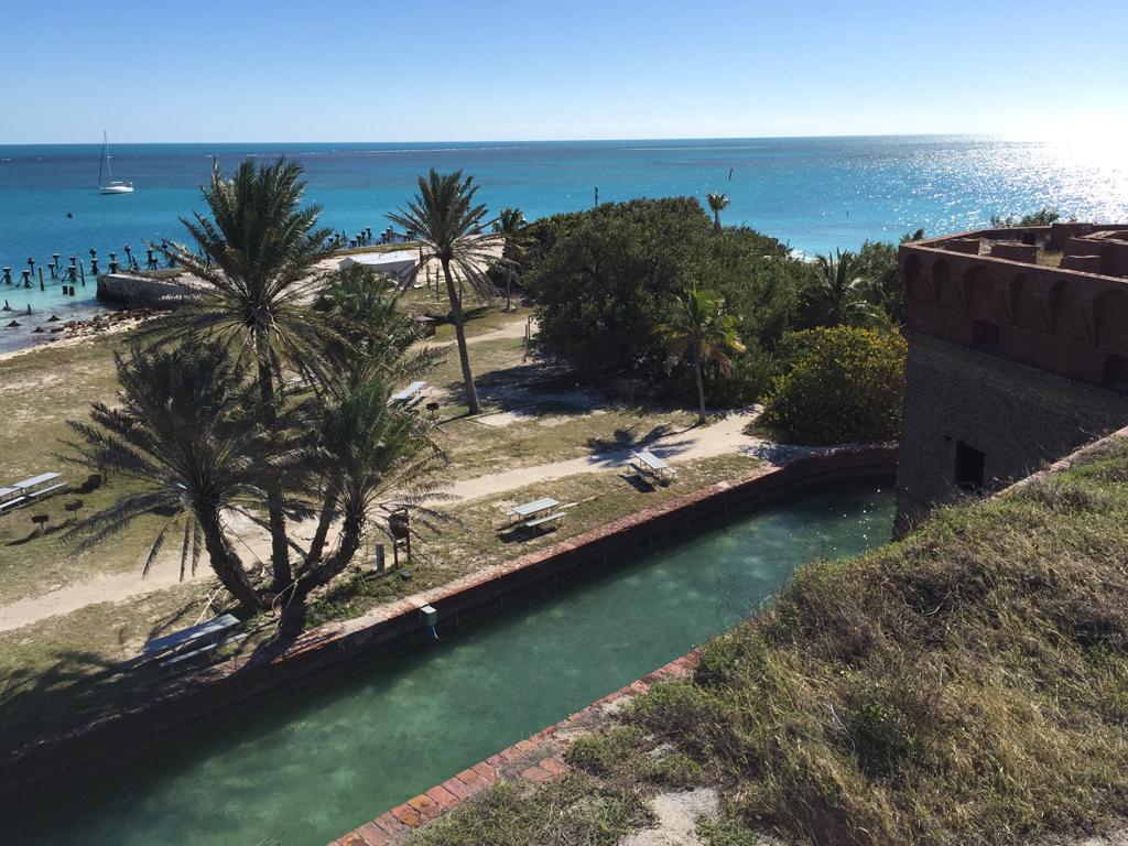 Camping at Dry Tortugas (Bob Finley)