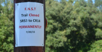 Florida Trail closure notice