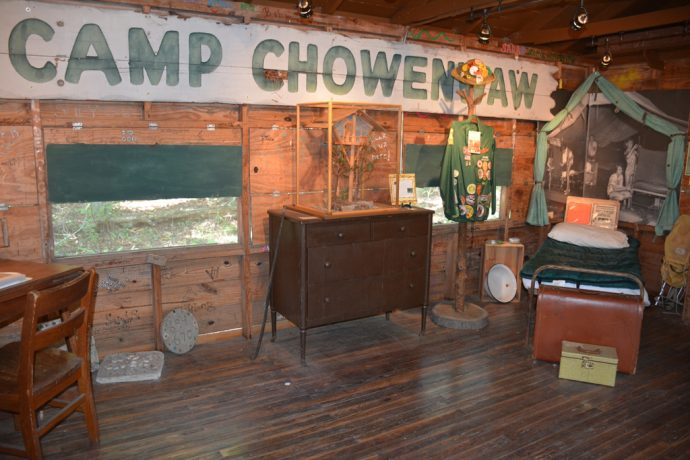 Camp Chowenwaw Girl Scout Museum