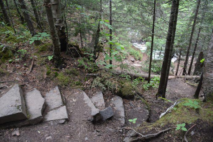 Cascade River hiking