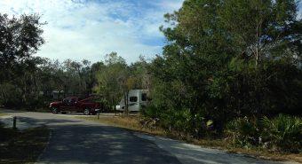 Camping at a Florida State Park
