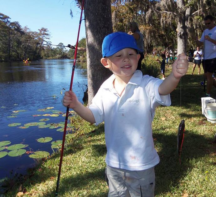 Learning to fish with FISH FLORIDA  (Lori Ceier/waltonoutdoors.com)