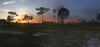 Sunset at Prairie Lakes WMA
