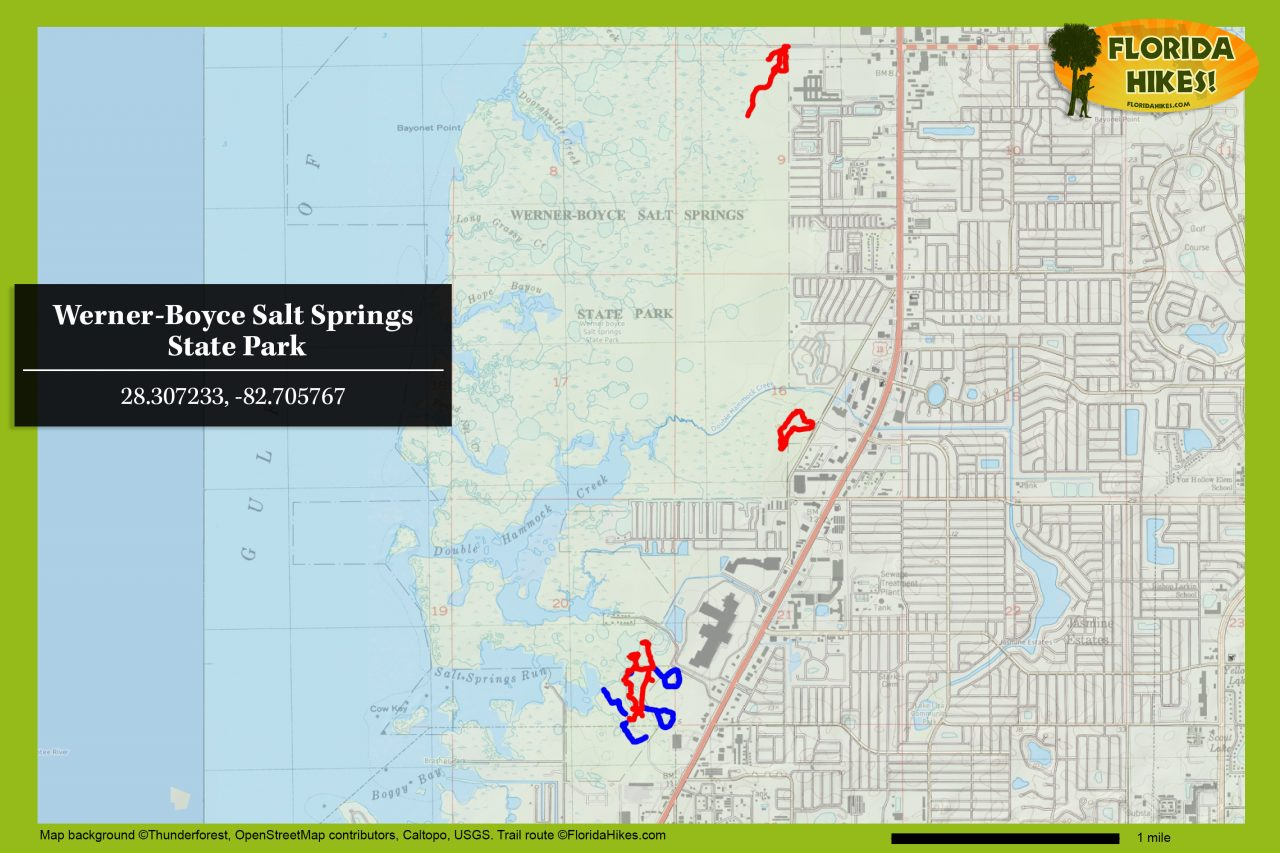 Werner-Boyce Salt Springs map