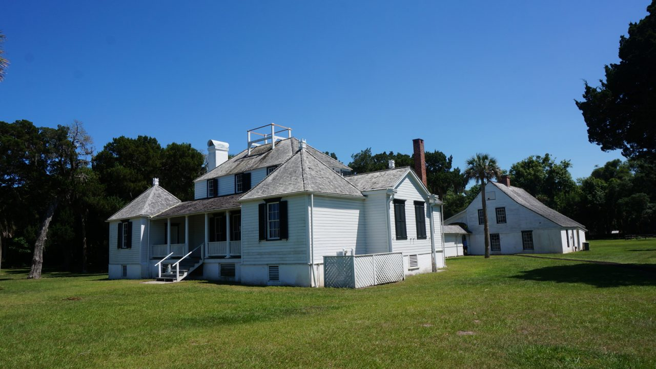 Kingsley Plantation home