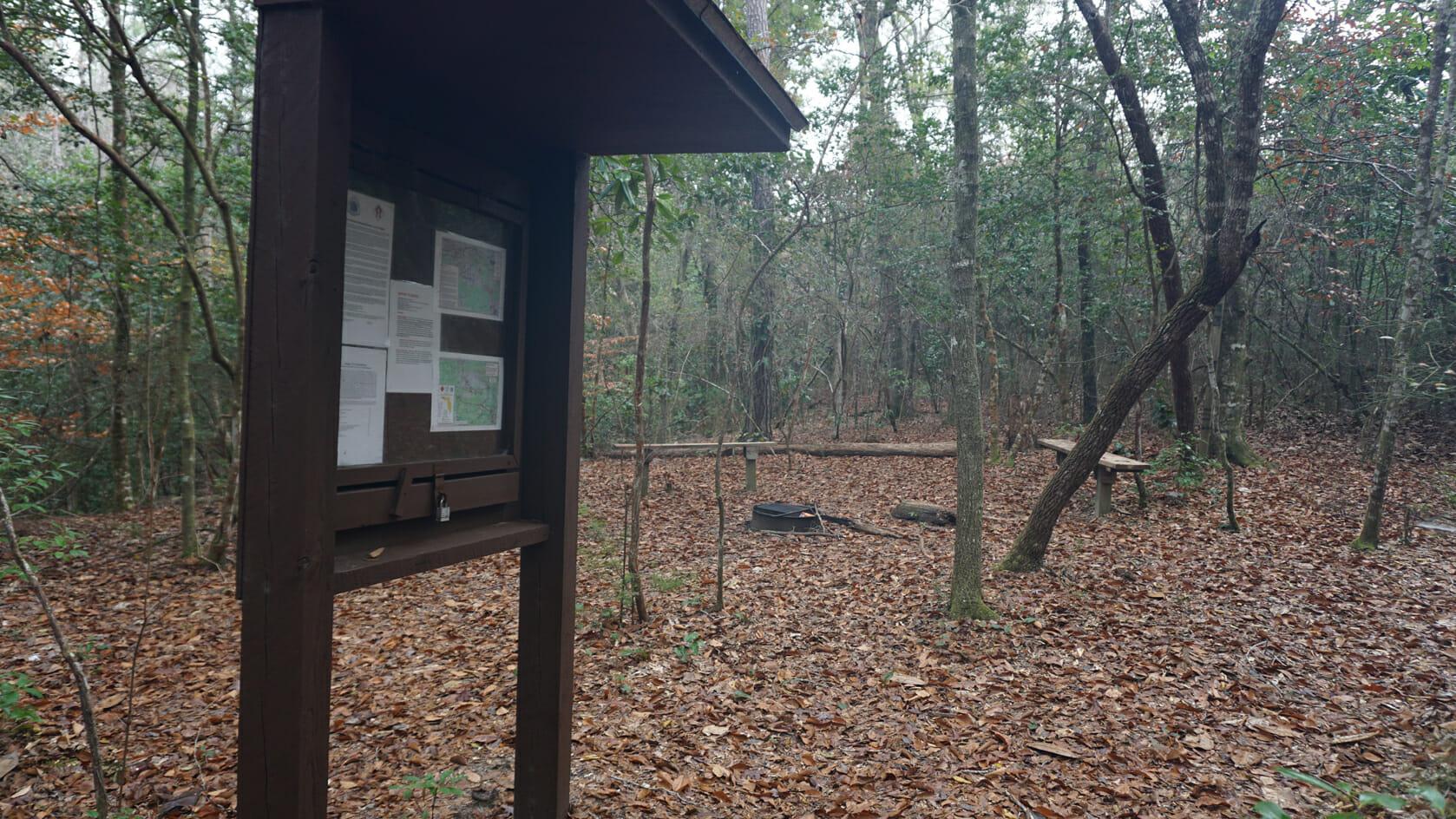 Eglin Portal campsite
