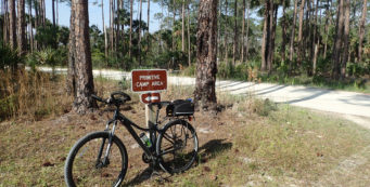Biking Tosohatchee