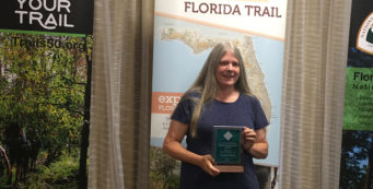 Sandra Friend receives Lifetime Achievement Award
