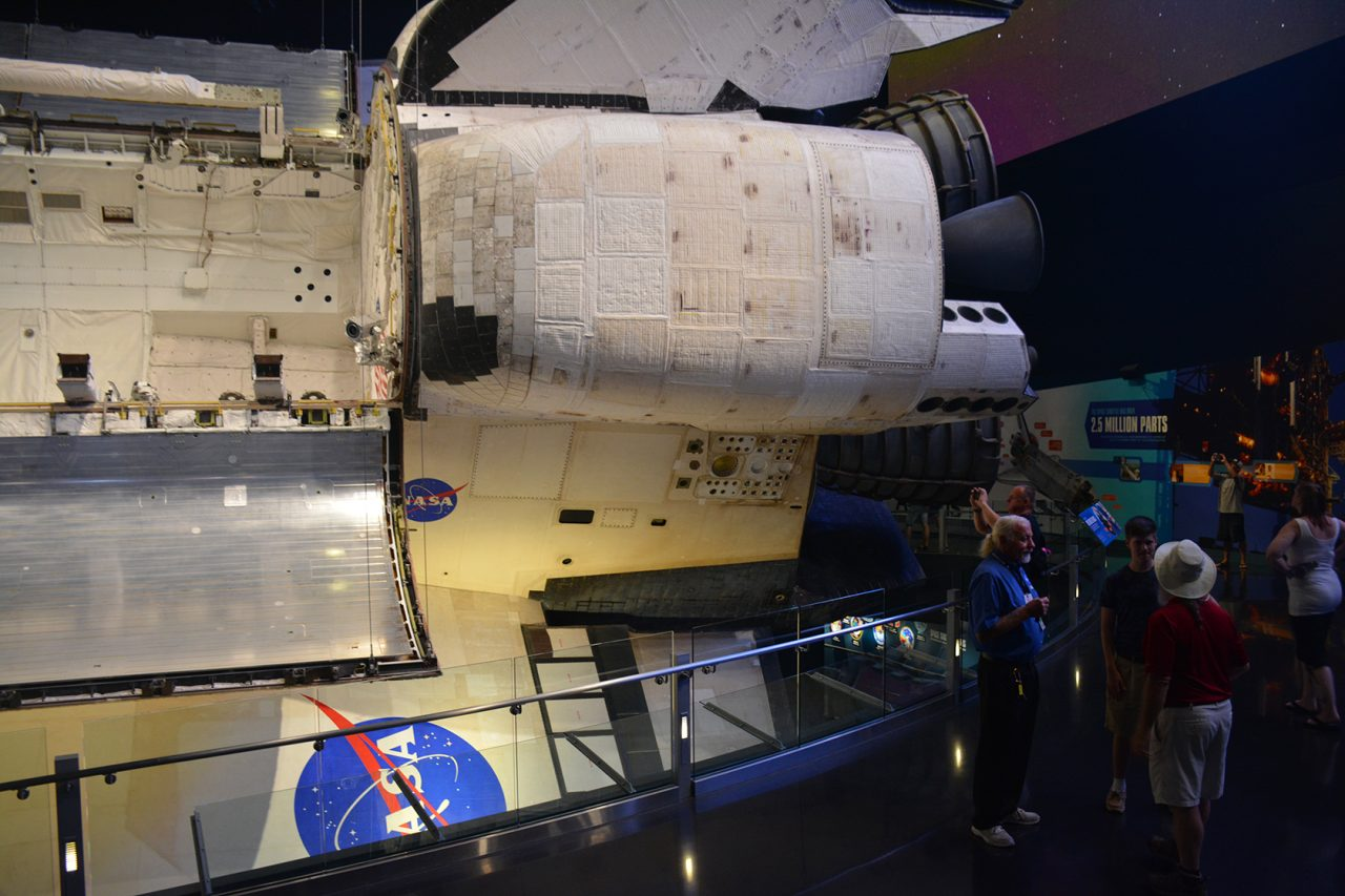 shuttle Atlantis close up