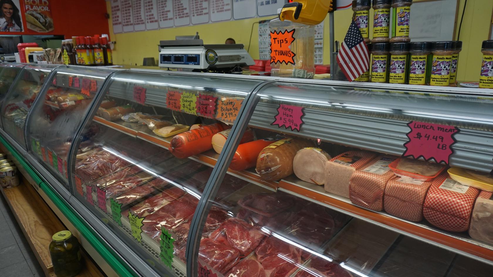 Mims Family Meat Market deli