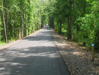 The new Blountstown Greenway