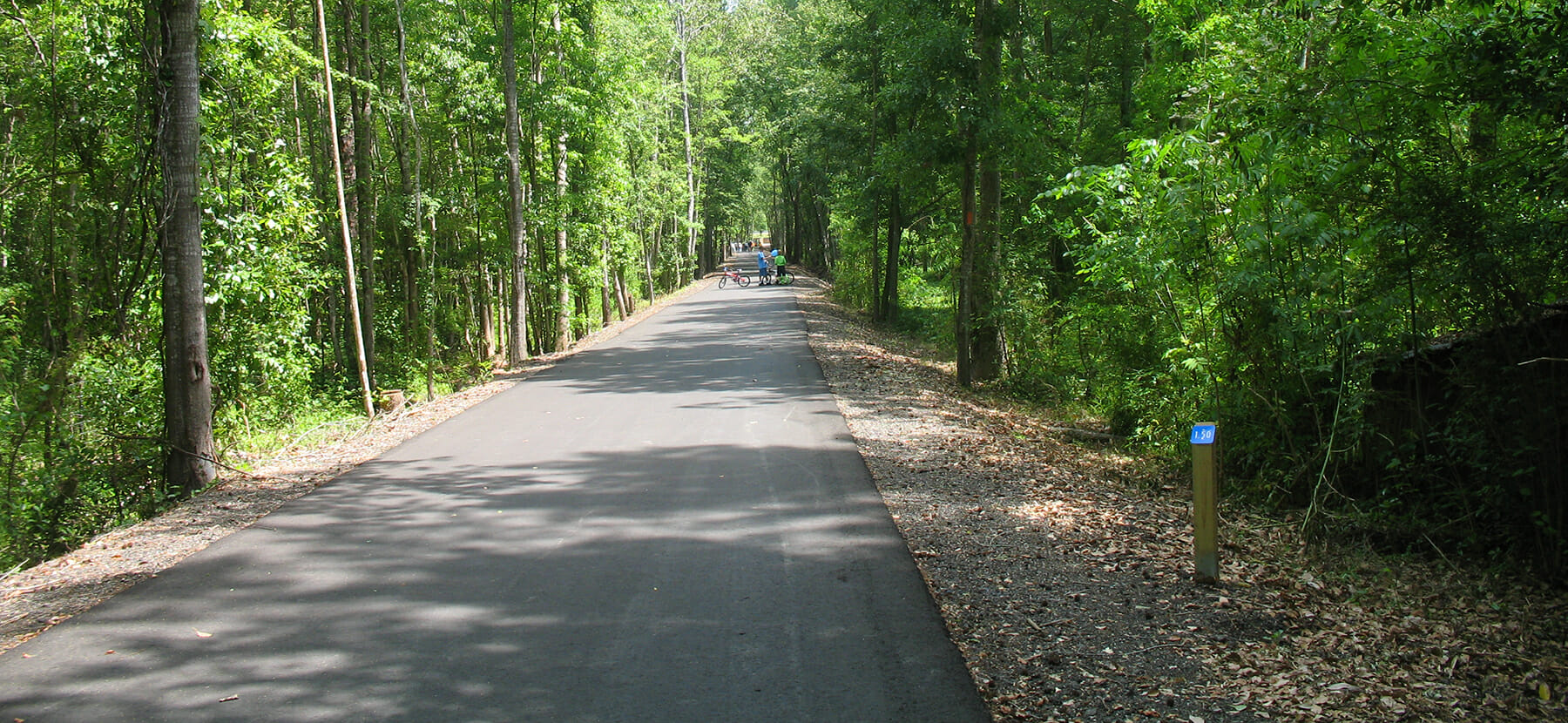 The new Blountstown Greenway