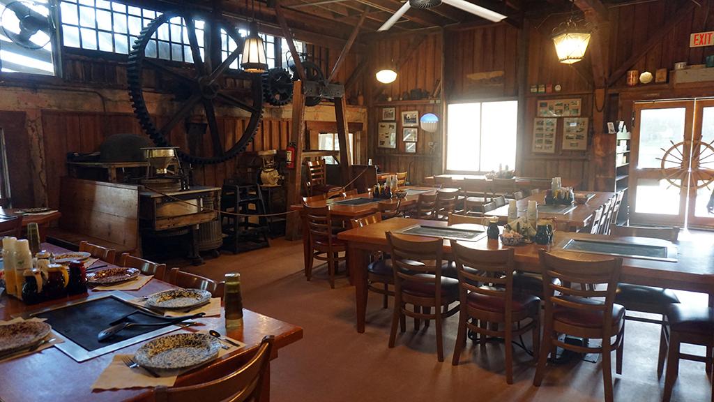 Old Spanish Sugar Mill interior