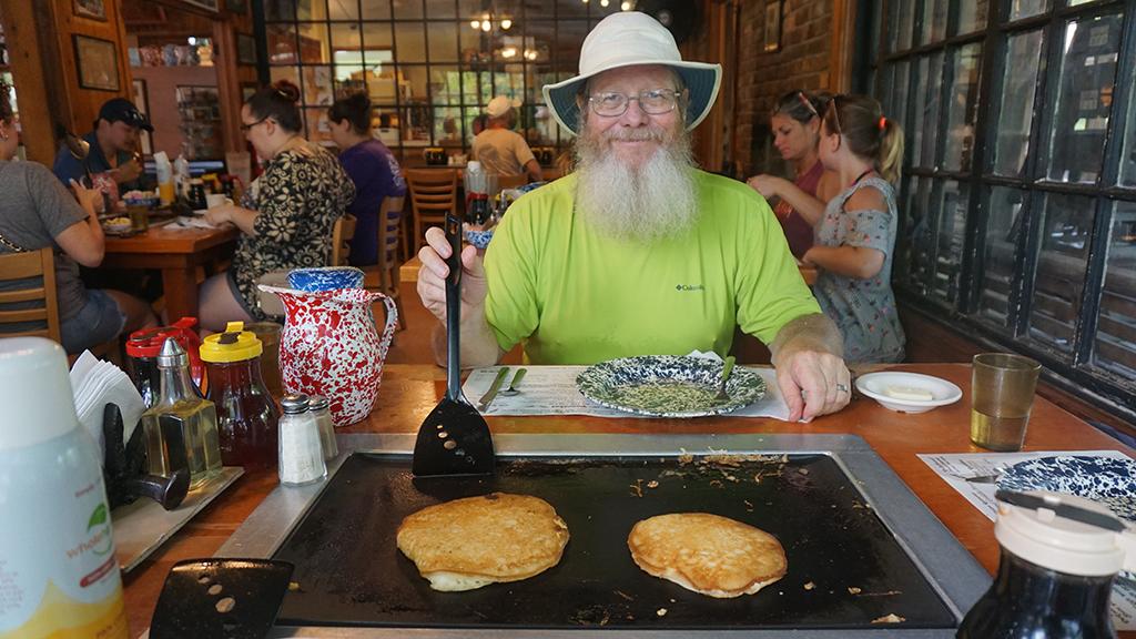 Old Spanish Sugar Mill pancake griddle