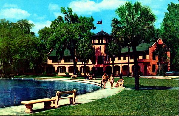 Ponce De Leon Springs Inn postcard