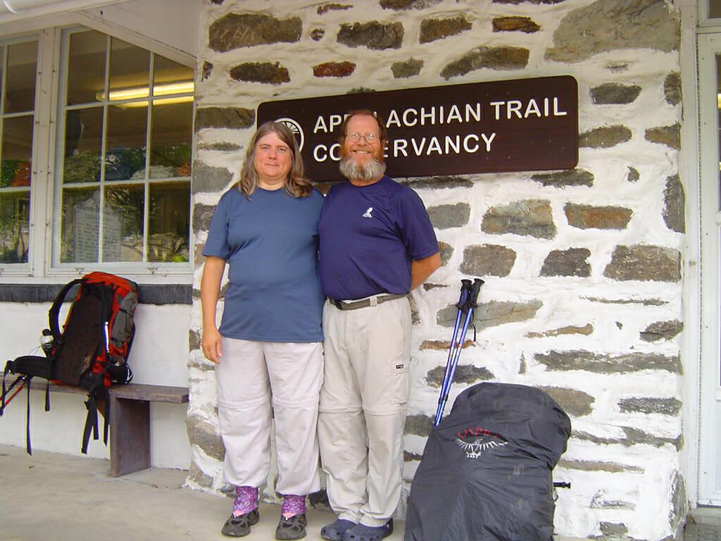 Sandy and John Appalachian Trail office