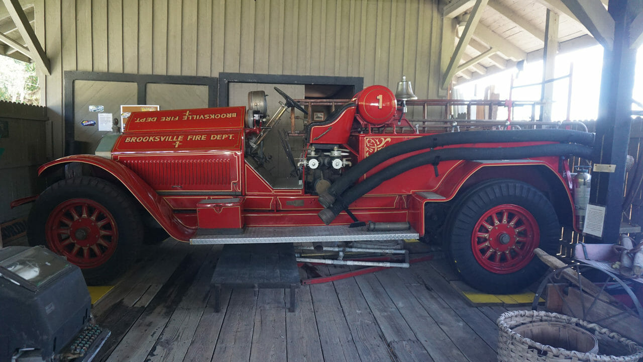 Brooksville fire engine