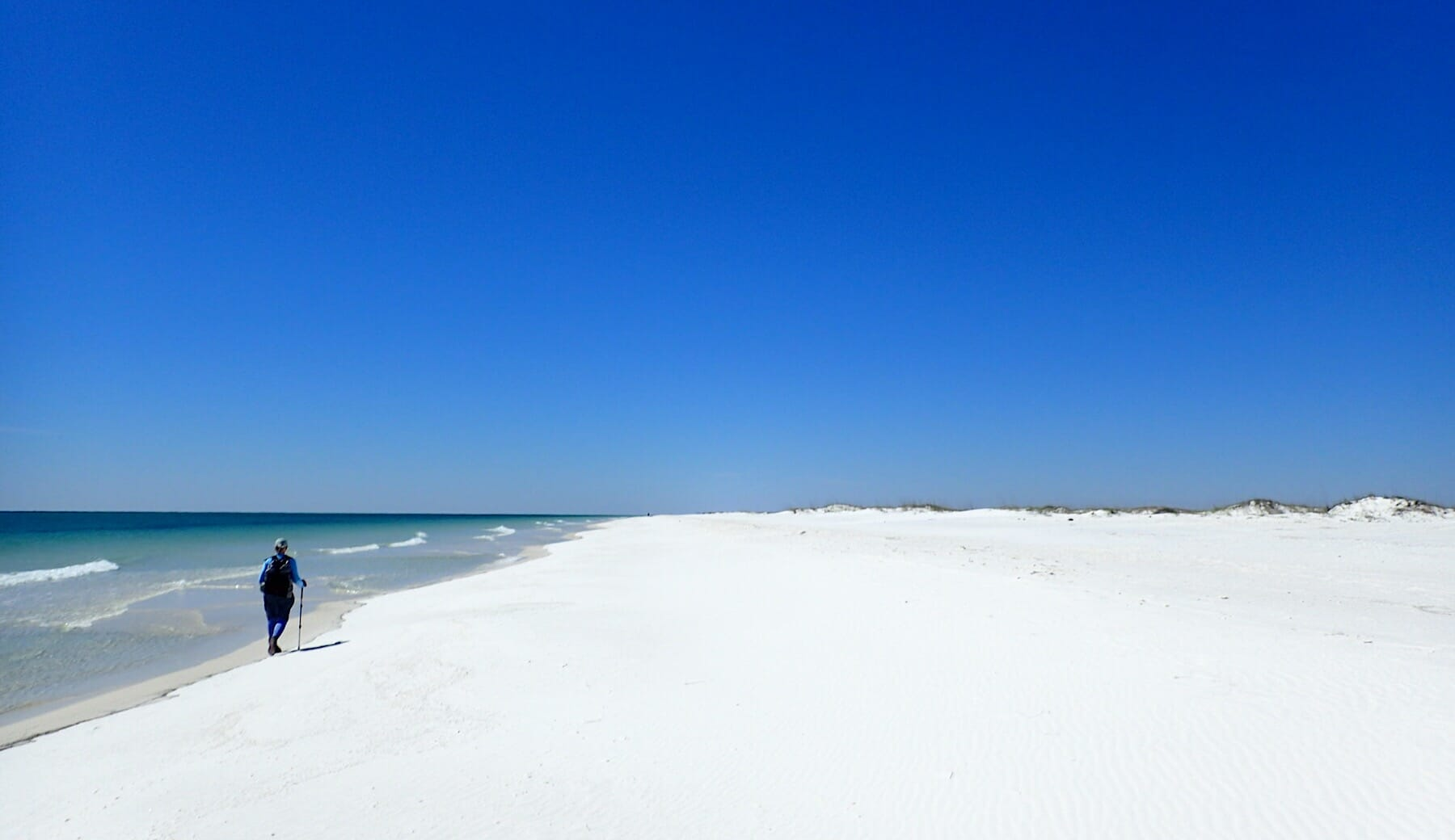 Fort Pickens Beach Walk