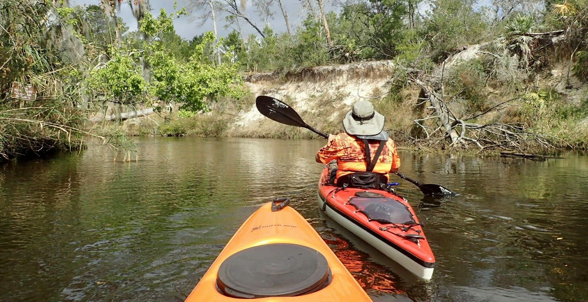 Turkey Creek paddle Palm Bay