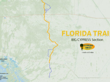 Florida Trail Big Cypress MAP