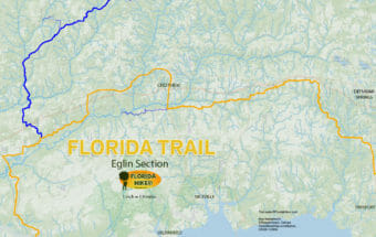 Camp Blanding Florida Map.Florida Trail Florida Hikes