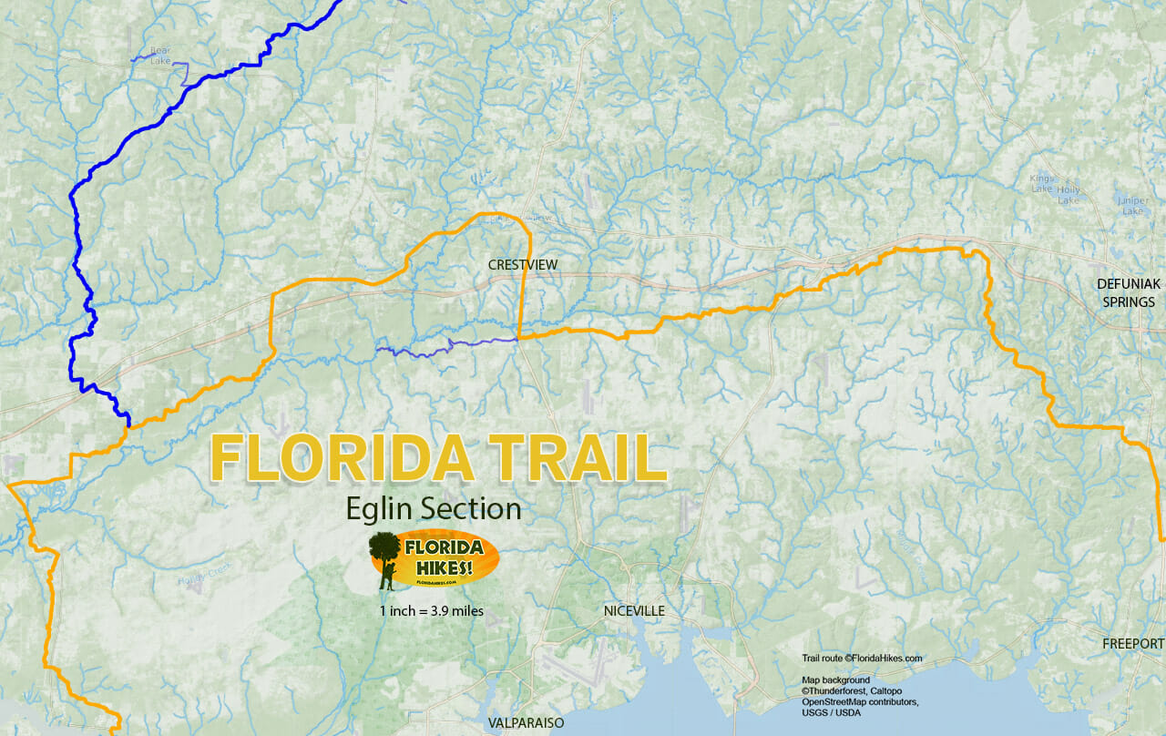 Florida Outdoor Recreation Maps | Florida Hikes!