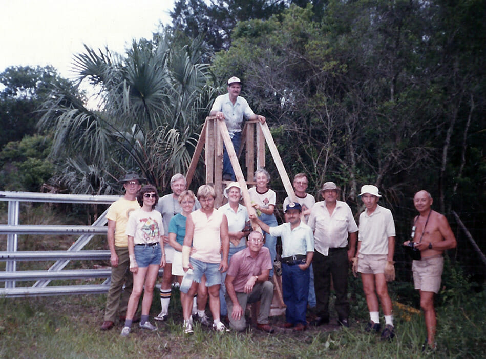 Wiley Dykes Sr. trail crew
