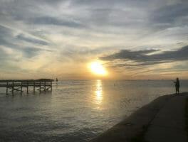 Bayport Park sunset
